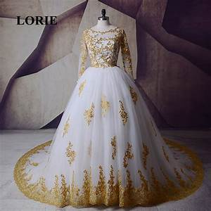 online get cheap gold wedding dresses aliexpresscom With gold dresses for weddings