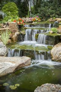 aquascape patio pond canada backyard oasis with pond and waterfalls hometalk