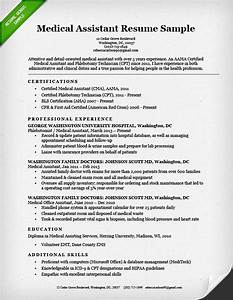 Medical assistant resume sample writing guide resume for Experienced medical assistant resume
