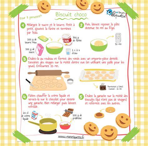 cuisine facile pour enfant recette biscuits maison au chocolat recettes enfant