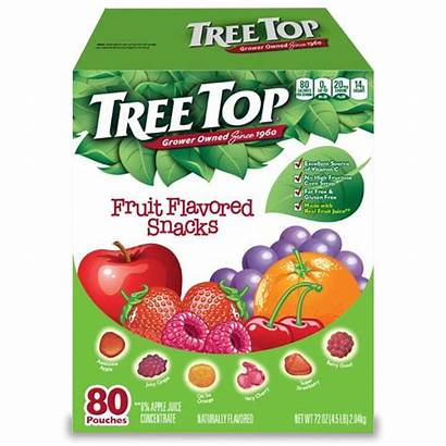 Fruit Snacks Tree Flavored Treetop Nutrition Facts