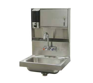 Advance Tabco Wall Mounted Hand Sink by Advance Tabco 7 Ps 79 Wall Mounted Hand Sink With Soap And