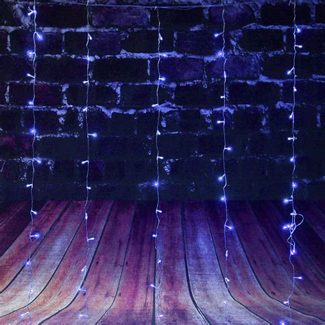 curtain fairy lights battery operated 110v 220v 3 2m 224pcs colorful curtain led icicle string