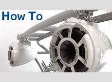 How To Install Marine Tower Speakers YouTube
