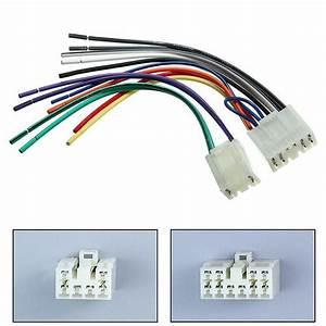 Radio Stereo Cd Player Reverse Wire Wiring Harness Plug