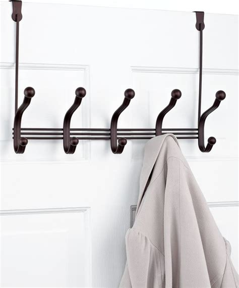the door hooks interdesign the door rack 5 hook york lyra