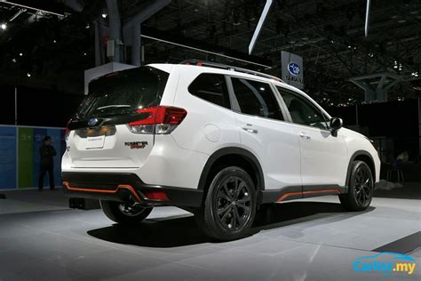 2019 Subaru Global Platform by New York 2018 All New 2019 Subaru Forester New Global