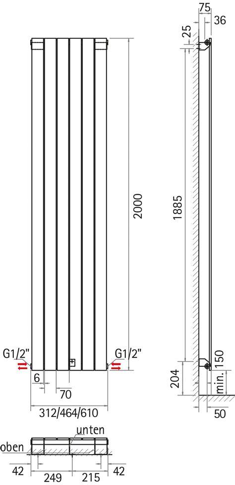 schulte heizkörper aachen schulte aachen design heizk 246 rper 2000mm x 616mm alpinwei 223