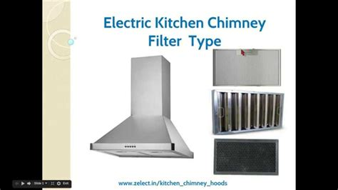 Kitchen Chimney Hood Filter Types