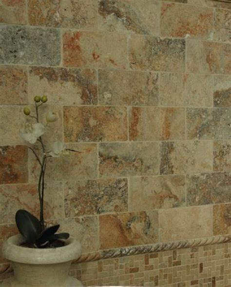 mexican bathroom travertine tile tropical new