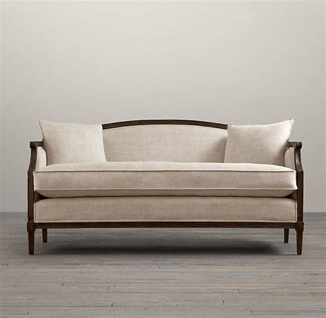 Restoration Hardware Settee by 17 Best Images About Loveseats Settes And Small Sofas On