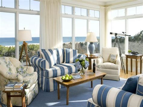 cottage style homes interior blue sofa cottage farmhouse style pinterest