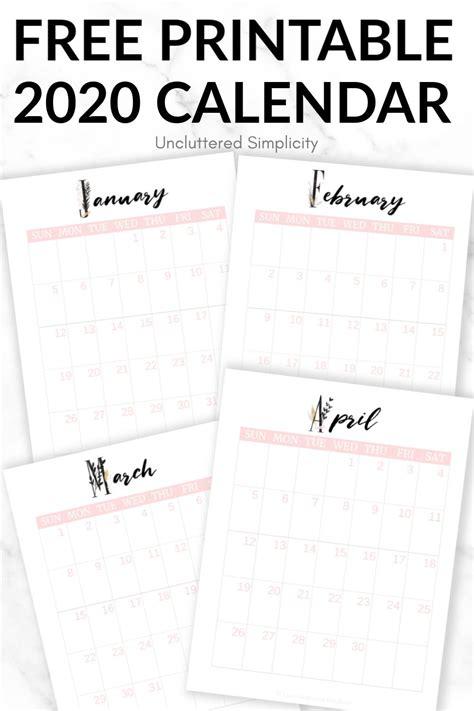 printable calendar    organize  life