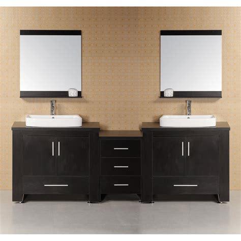 design element bathroom vanities design element washington 92 quot modern bathroom vanity espresso free shipping modern bathroom
