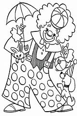 Clown Coloring Pages Circus Pennywise Carnival Animal Colouring Playing Popcorn Happy Colorings Getcolorings Printable Getdrawings Colorir Para Desenhos Squinkies sketch template