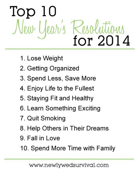 How To Stick With Your New Year's Resolution Newlywed