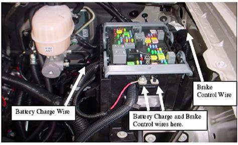 Chevrolet Silverado Volt Trailer Towing Wire