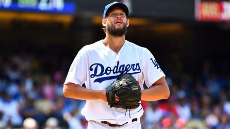 mlb clayton kershaws game  start