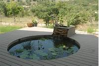 pond shapes and design deck pond designs - Google Search | plants and flowers ...