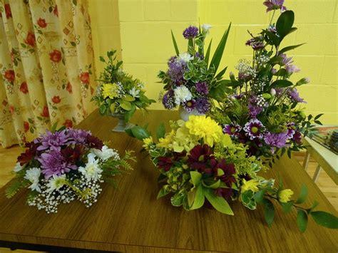 bicker district garden club flower arrangements