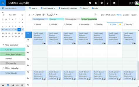 Office 365 Outlook Calendar by Get The Most Out Of Your Day With New Calendar Features In