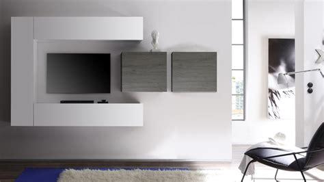 meuble suspendu chambre meuble tv blanc laque suspendu solutions pour la