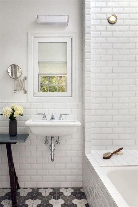 Popular Materials of White Tile Bathroom - MidCityEast
