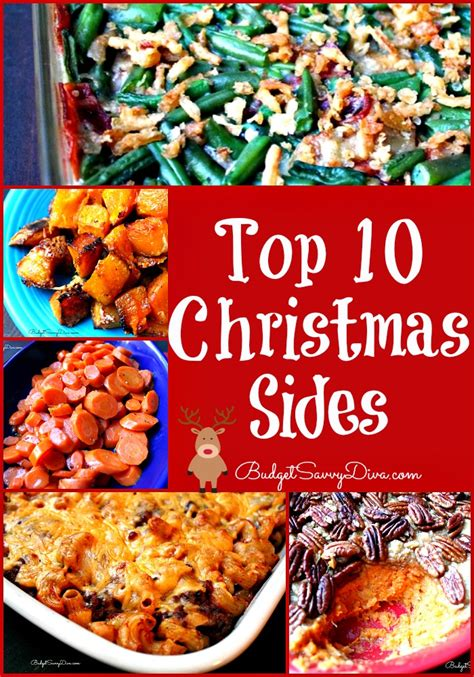 Top 10 Christmas Sides Recipes