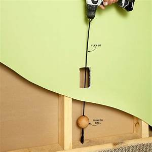 Fishing Electrical Wire Through Walls  With Images
