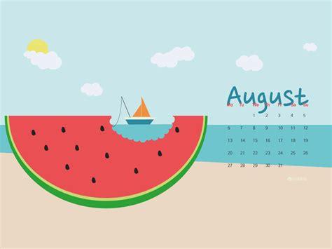 Downloadable Calendar: August 2020 • Silo Creativo