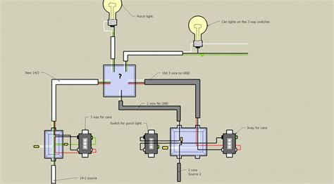 help three way switch conundrum diagram electrical