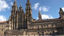 Santiago de Compostela, Spain - YouTube