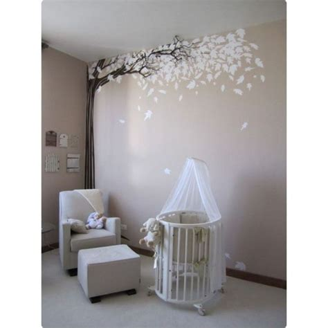 la chambre de bébé sticker arbre les plus belles