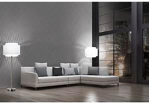 Wall Art Tapete : livingwalls tapete titanium 306453 grau metallic wall ~ Eleganceandgraceweddings.com Haus und Dekorationen