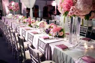 white banquet chair covers wedding table rental pink
