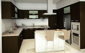 Cocina contempor nea armarios gris myideasbedroomcom for Decoracion de cocinas modernas