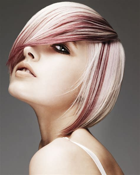 hair colors pictures two tone hair color ideas