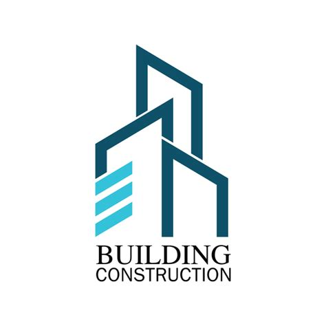 Building construction logo vector - Vector Architecture