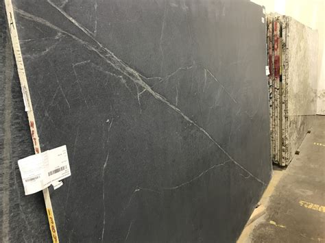 Black Soapstone Honed Marble
