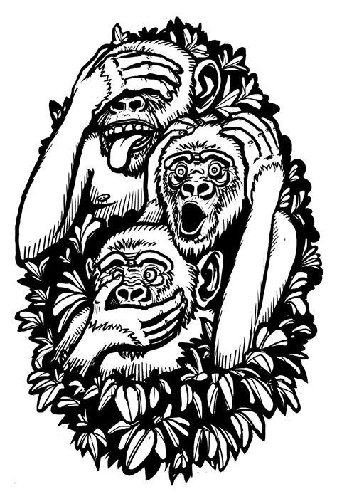 Die besten 25+ Wise monkeys Ideen auf Pinterest   drei weise Affen, Spaßfakten und Trash polka
