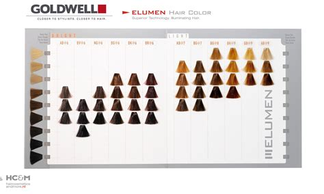 Goldwell Elumen Color Chart (previous).
