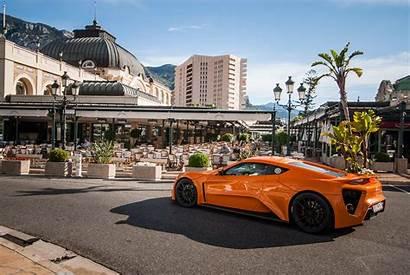 Monaco Zenvo Orange Wallpapers Europe St1 Supercars