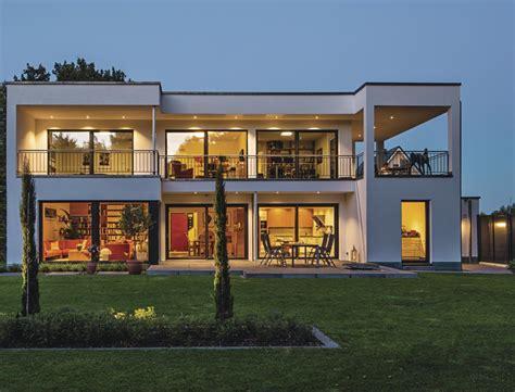 Modernes Haus L Form by Stadtvilla Moderner Bauhausstil Weberhaus Hausbaudirekt