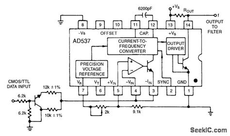 Bell System Data Encoder Analog Circuit Basic