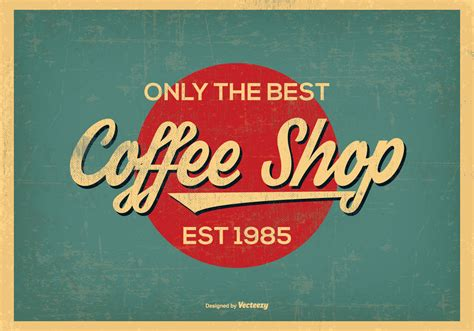 Vintage Retro Style Coffee Shop Background Gloria Jeans Coffee Dhaka Gulshan 1 Starbucks Menu South Africa Which Drink Has The Most Caffeine Townsville Delivery Non Indonesia Cheap Table Ottoman
