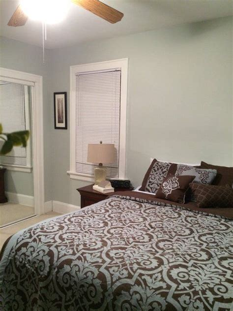 downstairs guest bedroom paint color sw  silver