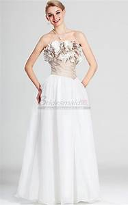 Light Pink Lace Mother Of The Bride Dress Strapless Chiffon White Long Bridesmaid Dress Bd Ca502