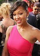 Meagan Good Jumping The Broom Premiere Red One Shoulder ...