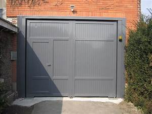 Porte de garage aluminium portail et cloture for Porte de garage en alu