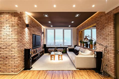 Stylish, Laconic And Functional New York Loft Style